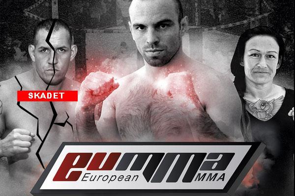 """Christian """"Godzilla"""" Colombo er skadet og ude af European MMA 9"""